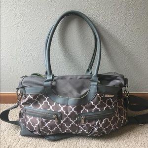 JJ Cole Satchel Style Diaper Bag